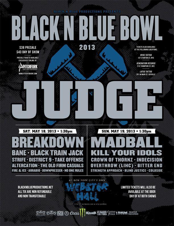 Black N Blue Bowl 2013 Poster