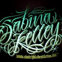 script-lettering-for-sabina-kelley-pin-up-model-2011