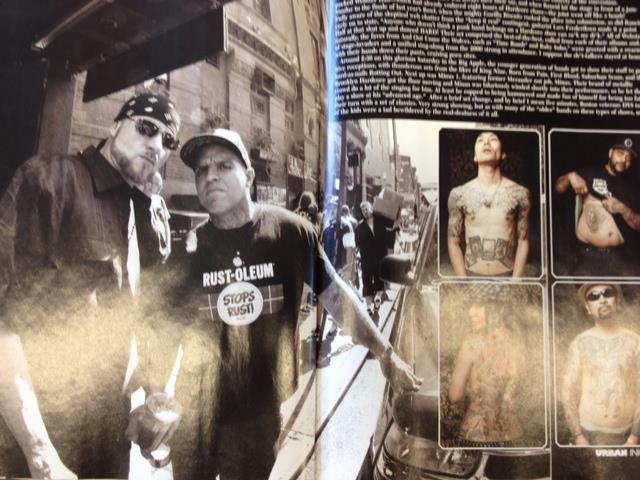 Black N Blue in Urban Ink mag.